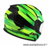 Casque Intégral marque NoEnd Race By OCD Green SA36 double visière taille L (59-60cm)