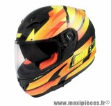 Casque Intégral marque NoEnd Race By OCD Yellow SA36 double visière taille XS (53-54cm)