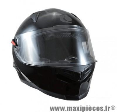 Casque Intégral marque Trendy 17 T-501 Oracle Noir Verni taille XS (53-54cm)