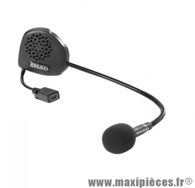 Kit Mains-Libres Shad Bluetooth Bc01 Adapt. Casque Jet/Bol