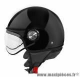 Casque Demi-Jet marque TNT Puck Italia taille M (57-58cm) Black