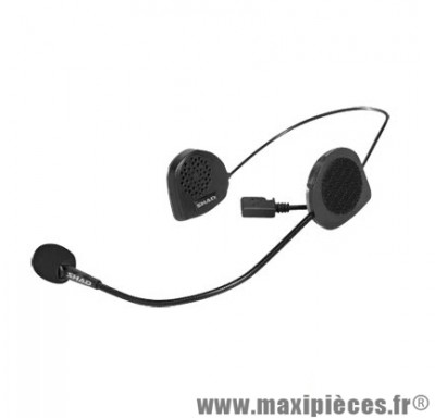 Kit Mains-Libres Shad Bluetooth Bc02 Adapt. Casque Jet/Bol marque - 2 Ecouteurs