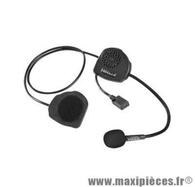 Kit Mains-Libres Shad Bluetooth Bc03 Adapt. Casque Jet/Bol marque - Intercom Pilote A Passager (X1)