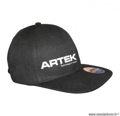 Casquette marque Artek Noire