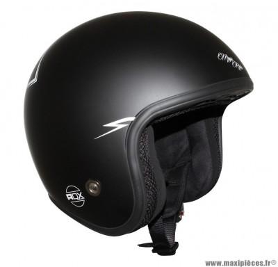 Casque Jet/Bol marque ADX Legend Magic Rider Noir Mat taille XS (53-54cm)