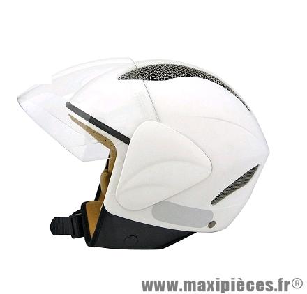 Casque Jet/Bol marque TNT Vegas Blanc Mat taille XS (53-54cm)