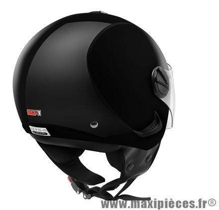 Casque Demi-Jet marque ALT-1 Urban taille S (55-56cm) Noir