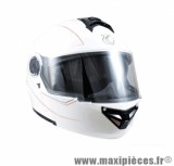 Casque Moto Scooter Modulable marque Trendy 17 T-701 Palma Blanc Verni taille L (59-60cm)