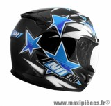 Casque Intégral Enfant taille YM (49-50cm) marque NoEnd Star Kid By OCD Blue SA36Y