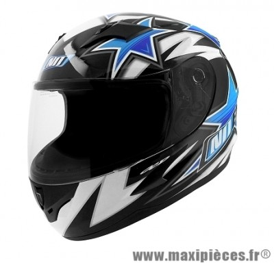 Casque Intégral Enfant taille YL (51-52cm) marque NoEnd Star Kid By OCD Blue SA36Y