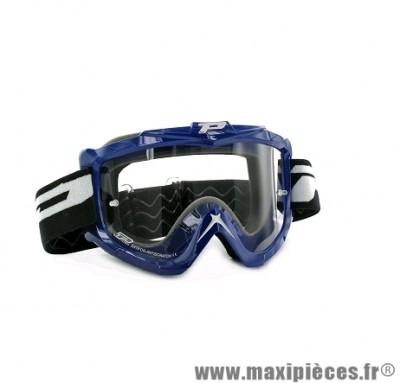 Masque Cross Moto marque Progrip 3301 Bleu