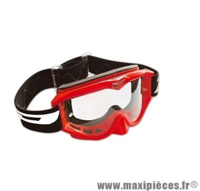 Masque Cross Moto marque Progrip 3200 Rouge