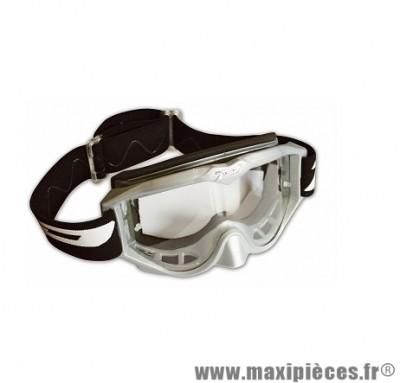 Masque Cross Moto marque Progrip 3200 Gris