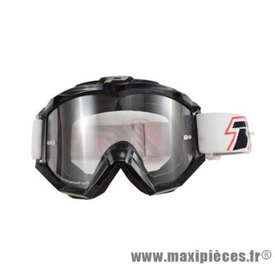 Lunette/Masque marque Progrip 3301 Noir anti-buée/Rayure