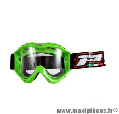 Lunette/Masque marque Progrip Enfant 3101 Vert Écran anti buée