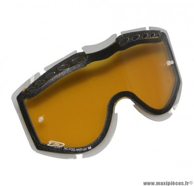 Écran Lunette Cross marque ProGrip Orange 3257 double faces