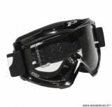 Lunette Cross marque ProGrip 3301 Noir Écran transparent anti-rayures/anti-buée