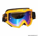 Lunette Cross marque ProGrip 3204 Fluo Orange Écran Multi Orange anti-buée/Anti U.V./anti-rayures
