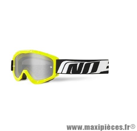 Masque Cross Moto marque NoEnd 3.6 Series Jaune