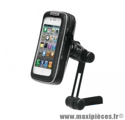 Support smartphone/iphone dimension ecran 4.3'' (8x14cm) marque Shad fixation retroviseur