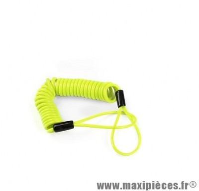 Cable anti-oubli marque Lock Force pour scooter (court)