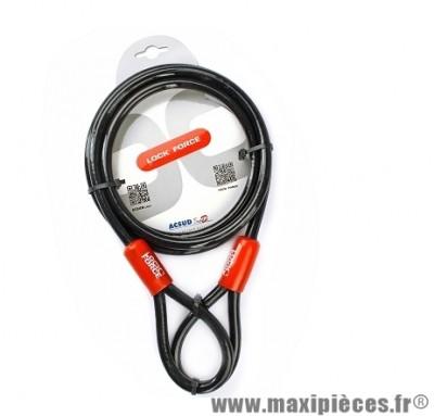 Cable de sécurité marque Lock Force steelcable diametre 10mm - longueur 2m