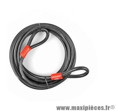 Cable de sécurité marque Lock Force steelcable diametre 15mm - longueur 9m