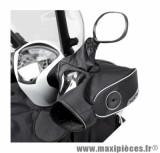 Manchon maxiscooter Tucano Urbano noir guidon avec retro ac/ss stabilisateur (compatibilité voir info)