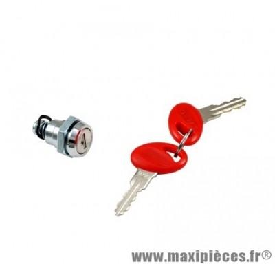 Barillet de top case marque Shad + 2 clés jusqu'à 46L