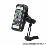 Support smartphone/iphone dimension ecran 5.5'' (9x16cm) marque Shad fixation retroviseur