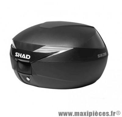 Top case marque Shad 39l noir (capacité 2 casques - jet+integral)