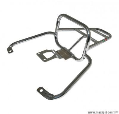 Porte bagage maxiscooter arrière pour piaggio 50-125 vespa lx, lxv, vespa-s chrome - marque Faco