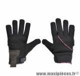 Gants Hiver taille XXS / T6 marque Steev Yukon Noir/Rose 2017 - Coque Homologuée Ce