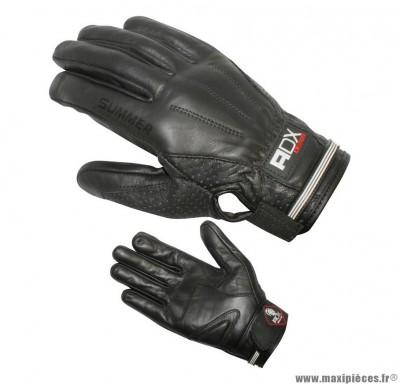 Gants Mi-Saison marque ADX Sum Noir taille XS / T7 (100% cuir)