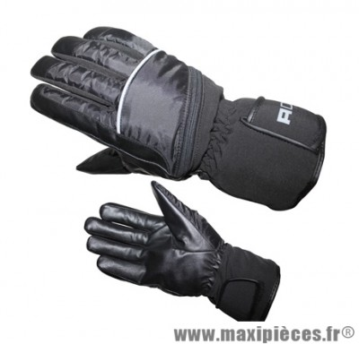Gants Hiver marque ADX Freeway taille XXS / T6 (Polyester avec PVC + polyester softshell + cuir + hipora + thinsulate)