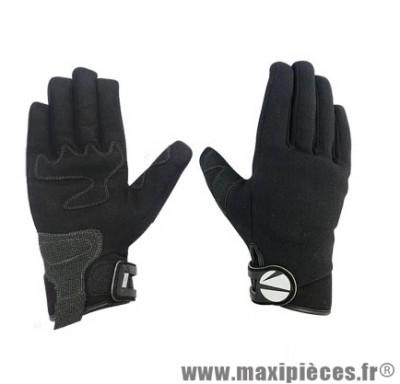 Gants Été taille S / T8 marque Steev MX 2017 Noir