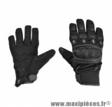 Gants Été taille XL / T11 marque Steev Urban 2017 Noir