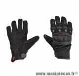 Gants Été marque Steev Urban 2017 Noir/Rouge taille XS / T7