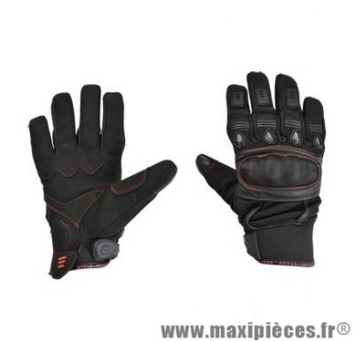 Gants Été taille S / T8 marque Steev Urban 2017 Noir/Rouge
