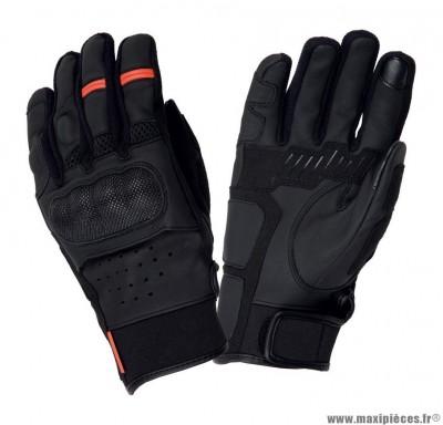 Gants Printemps-Été marque Tucano Mrk Skin Noir taille L / T10 (Compatible écran tactile)