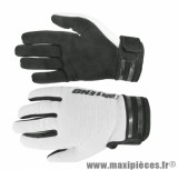 Gants Cross marque Noend Mxcolor Blanc/Noir taille L
