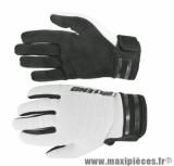 Gants Cross taille XL marque Noend Mxcolor Blanc/Noir