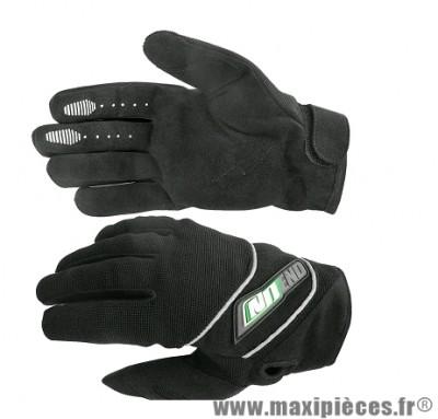 Gants Cross marque Noend Sober-X Noir/Vert taille XS