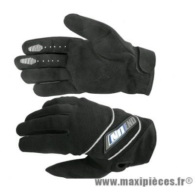 Gants Cross marque Noend Sober-X Noir/Bleu taille XS