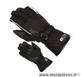 Gants Hiver marque ADX City Noir taille XXS / T6 (Tissu polyester-doublure polaire)