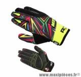 Gants Cross marque ADX MX1 Freeride taille XXL / T12 (Dessus textile, dessous cuir synthétique amara)