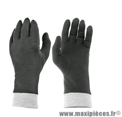 Sous Gants marque TNT Noir/Gris En Coton taille S