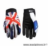 Gants Moto marque Five Planet Patriot England taille L