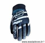 Gants Moto taille S marque Five Planet Fashion Logo Blue