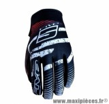 Gants Moto marque Five Planet Fashion Logo Red taille XL